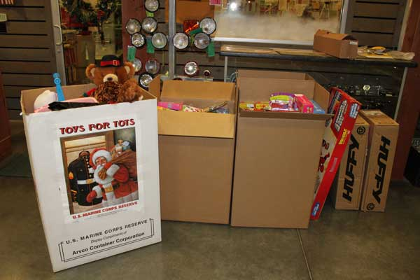 Toys For Tots 2012 : Toys for tots success antique tractor