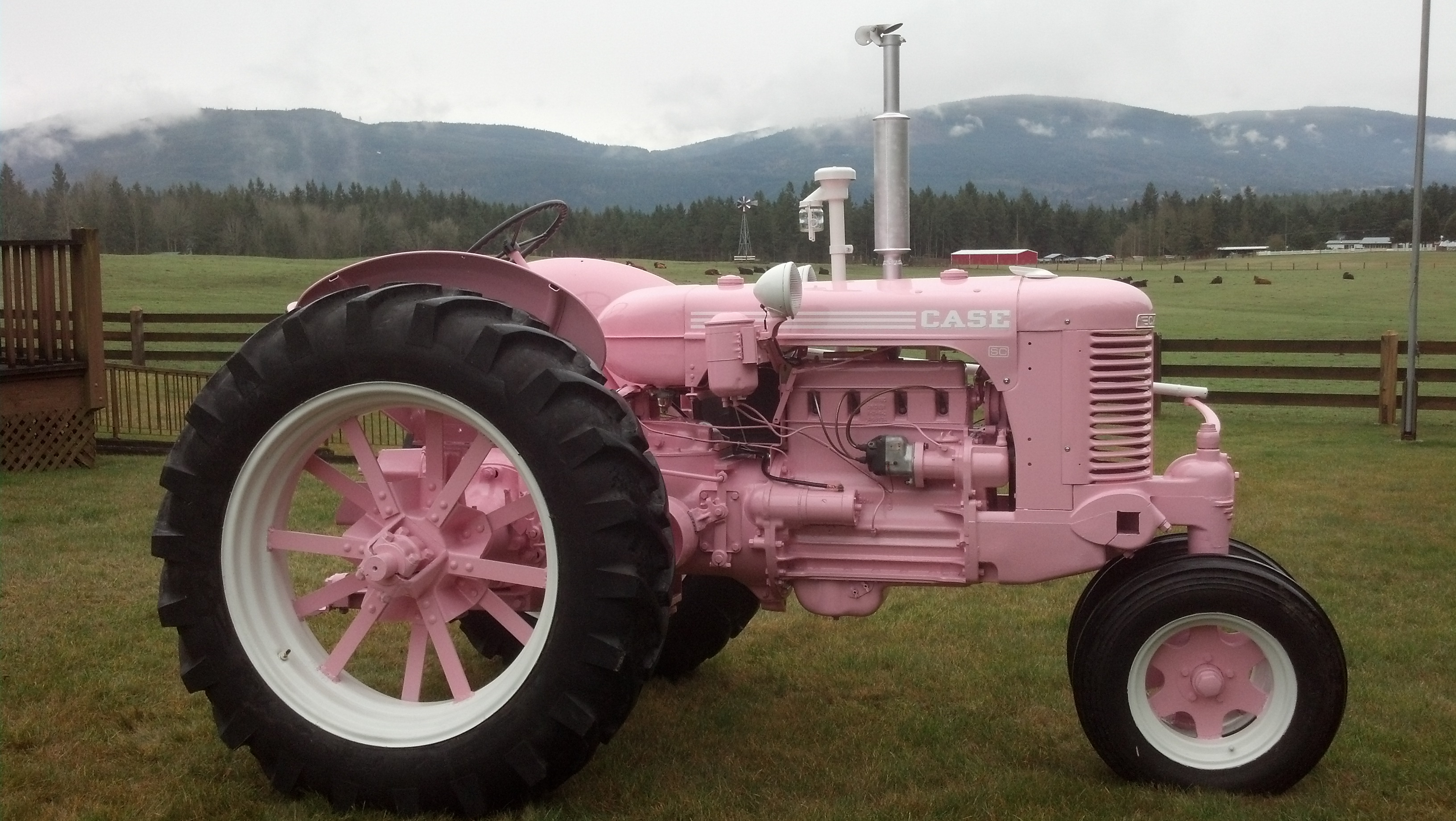 1947 Case Tractor : Tractor story case antique