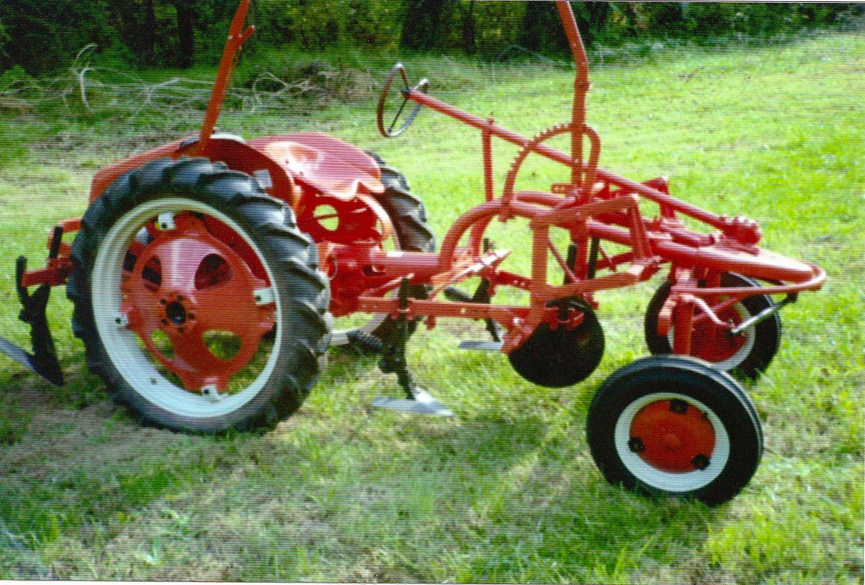 Allis Chalmers G Tractor : Tractor story allis chalmer g antique