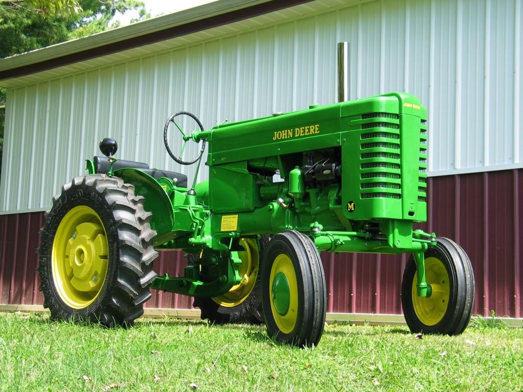 Old John Deere Tractors : John deere