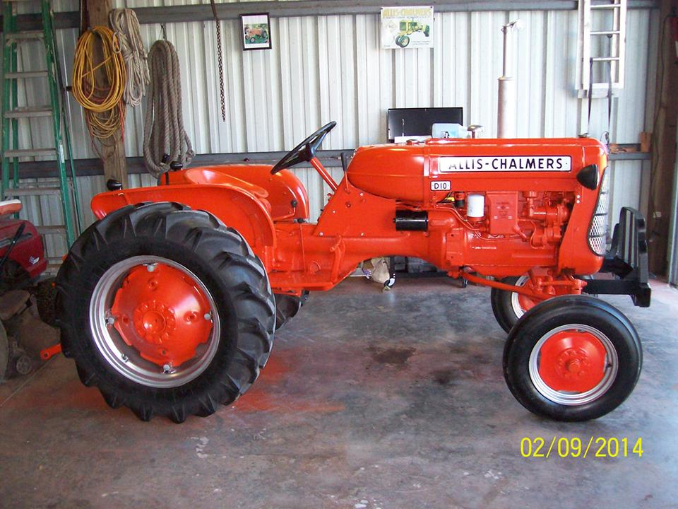 Tractor Story - 1959 Allis Chalmers D10 - Antique Tractor Blog