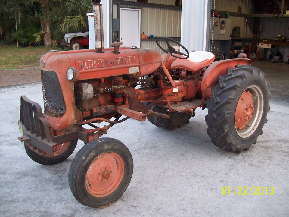 Tractor Story – 1959 Allis Chalmers D10