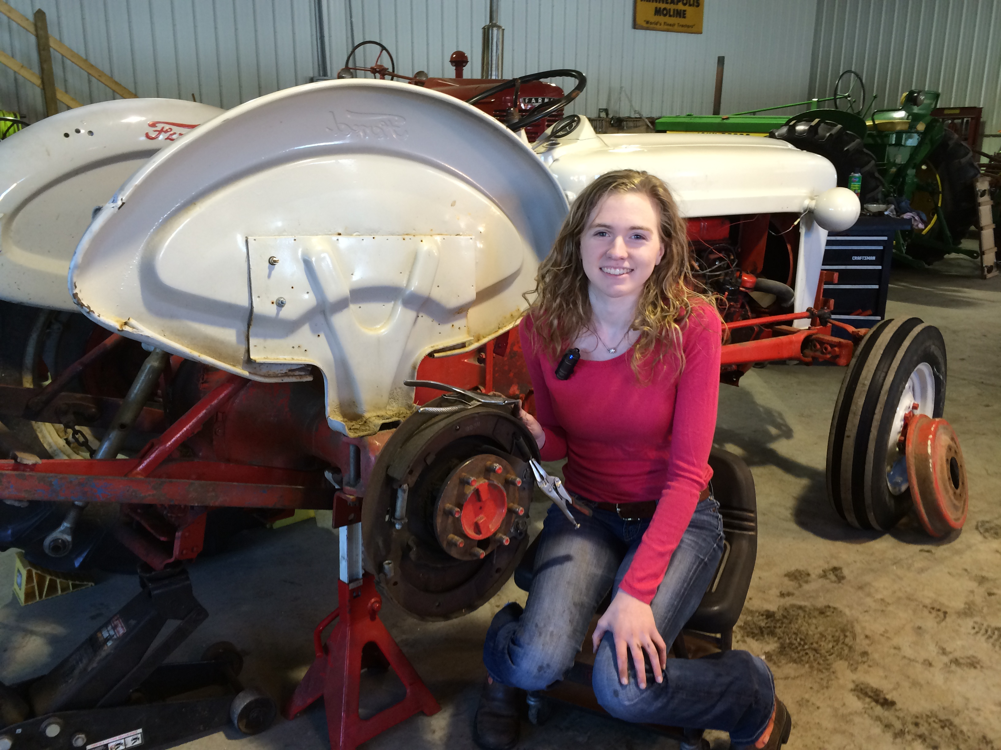Install New Brakes on your Ford Tractor Antique Tractor Blog