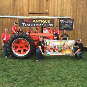 ISU Antique Tractor Club Finishes Case DC