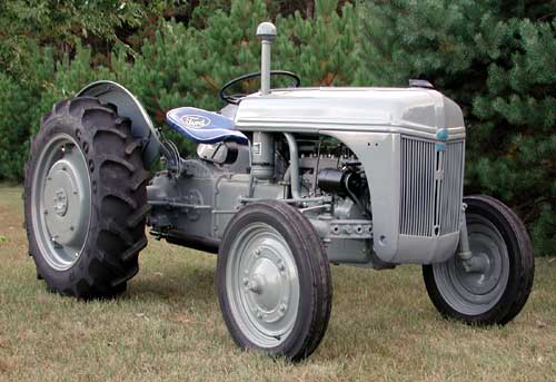 Ford Tractor Grey Paint Code