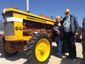 On the Road with Rachel: Mecum Gone Farmin' Tractor Auction