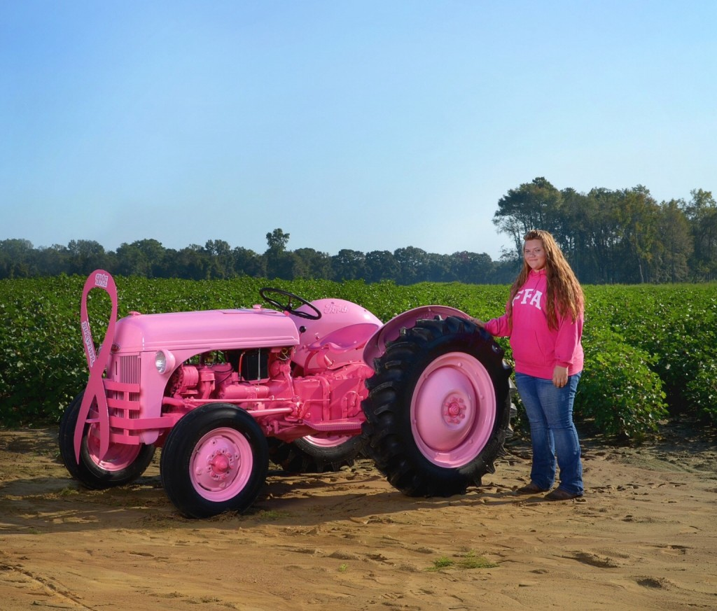 Pink Tractor 2 Antique Tractor Blog