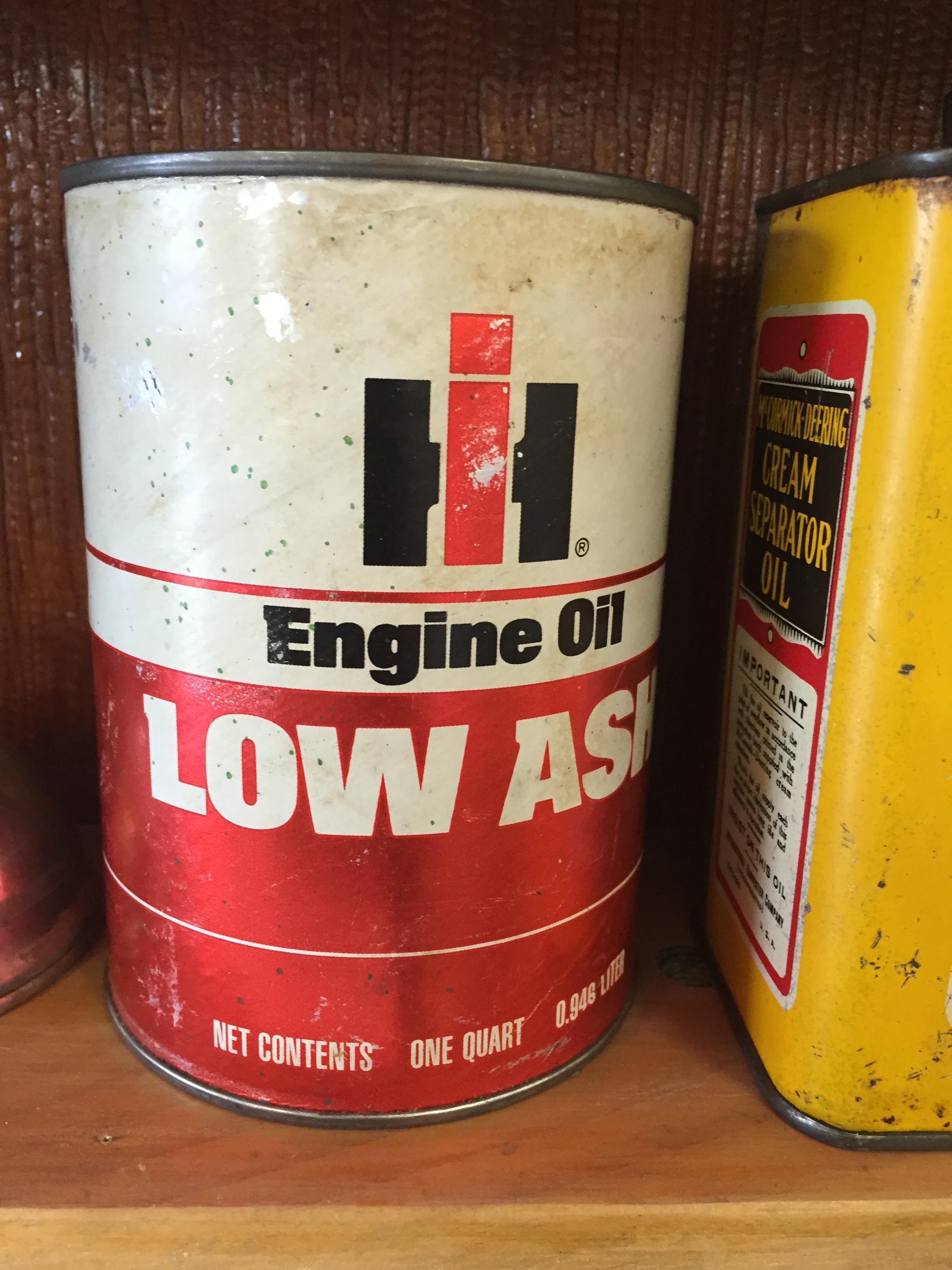 Ih Engine Oil Low Ash Antique Tractor Blog