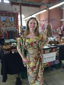 Ih Hawaii Dress United Airlines Rachel Gingell E X