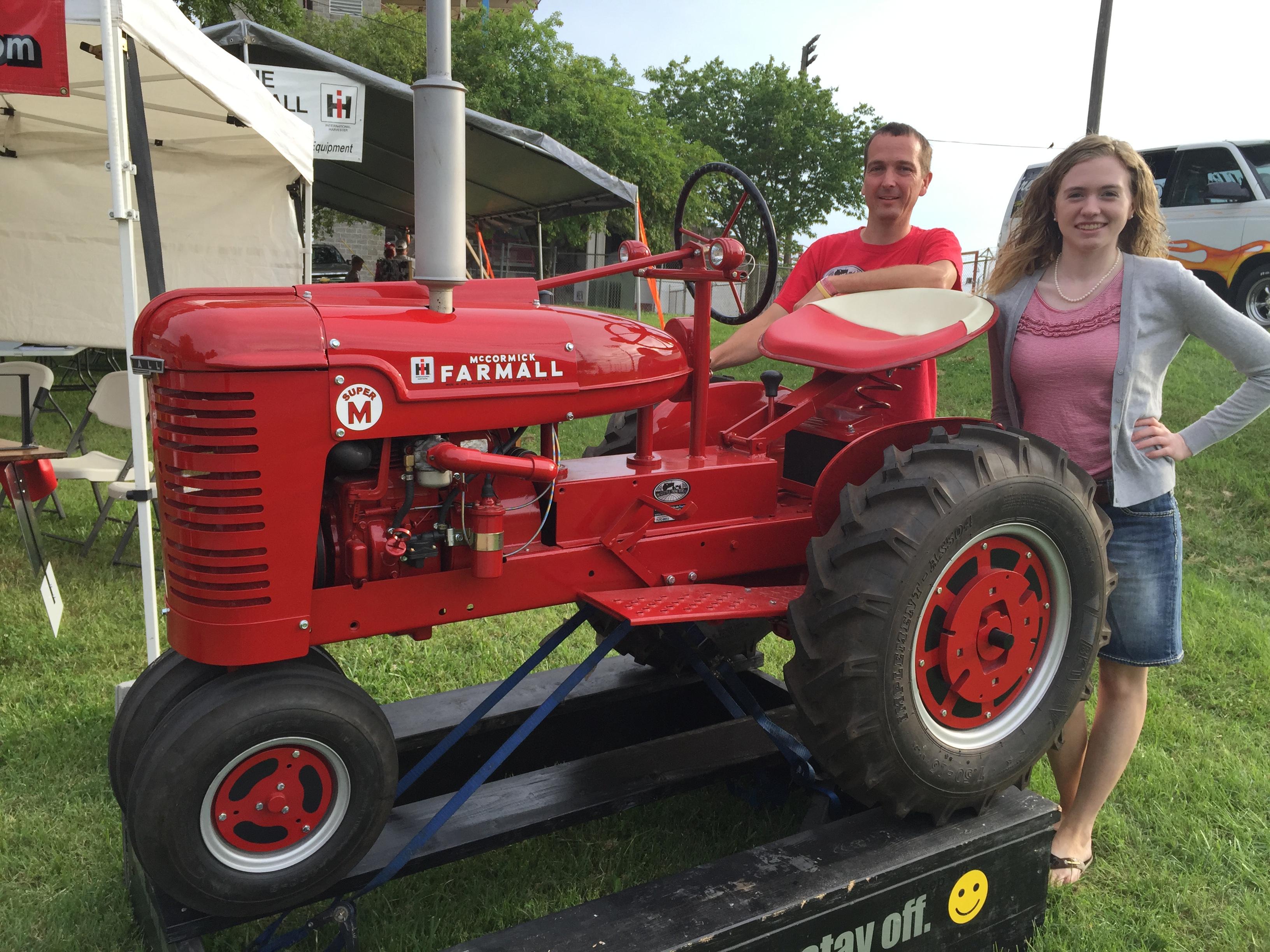 Half Scale Super M Farmall Antique Tractor Blog