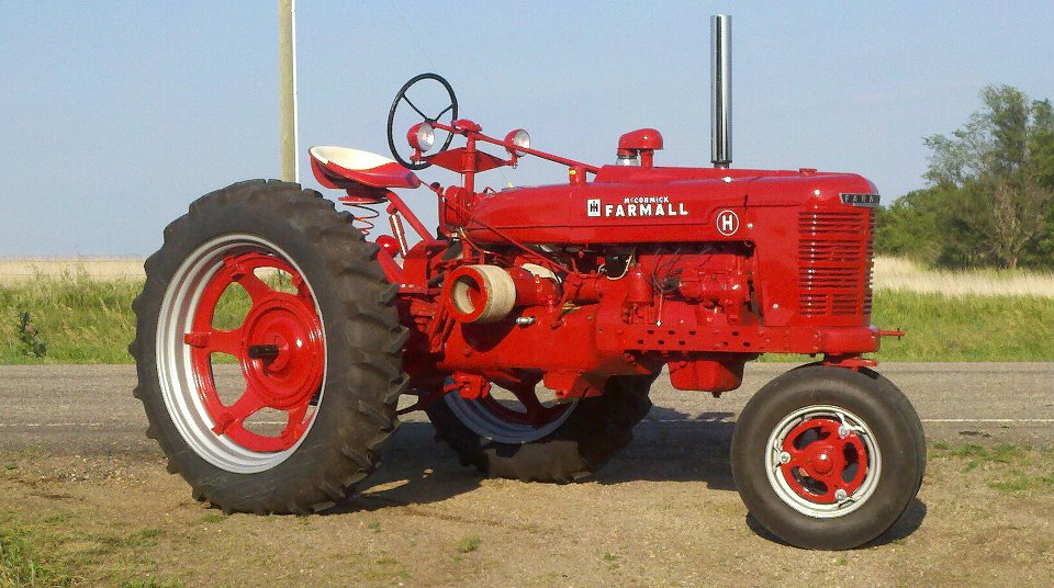 Mysteries Revealed - Farmall v  International Tractors