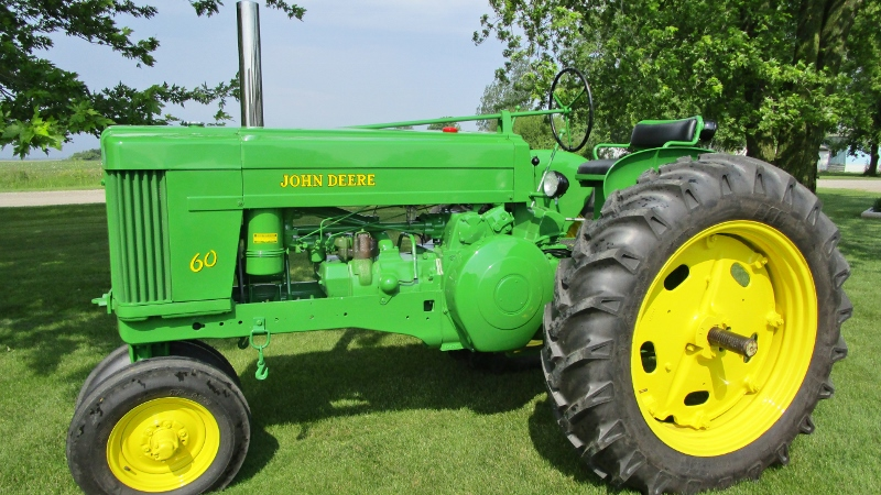 John Deere 50 after restoration