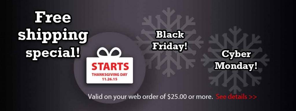 Save on Black Friday