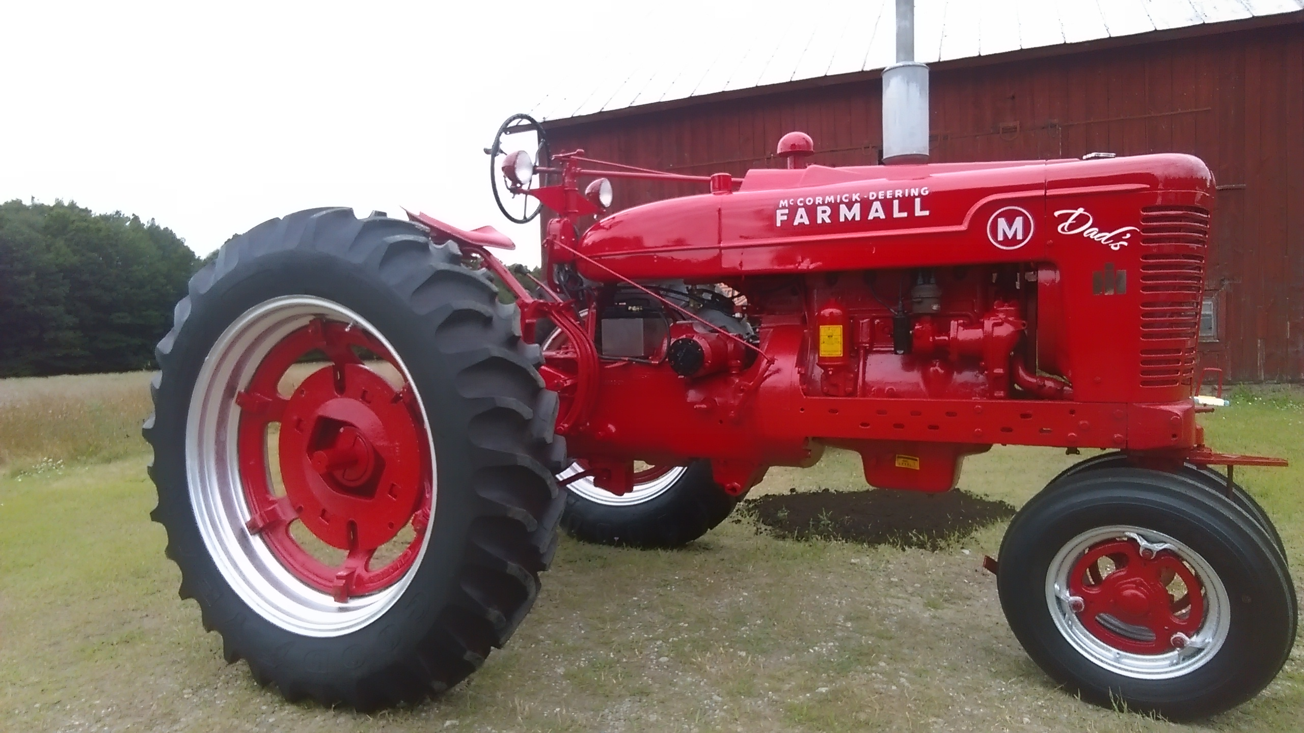Dad S Farmall M Antique Tractor Blog