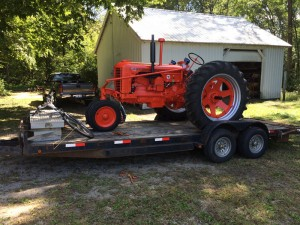 ISU Tractor Club Begins John Deere Project