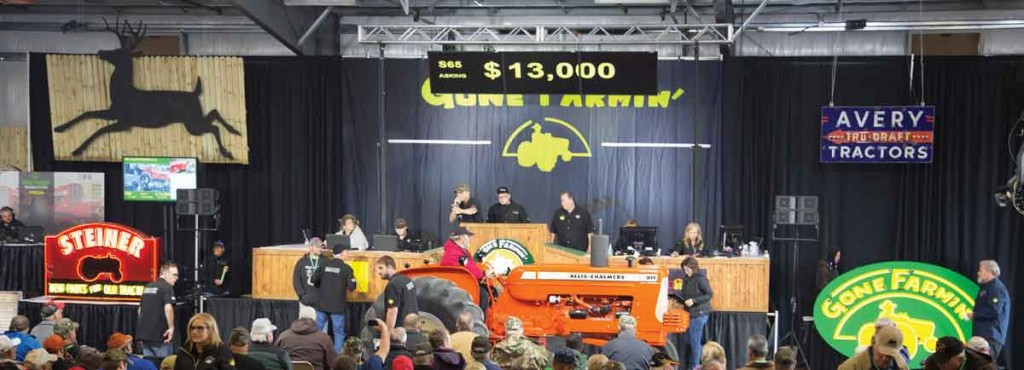 Mecum Tractor Auction in Iowa
