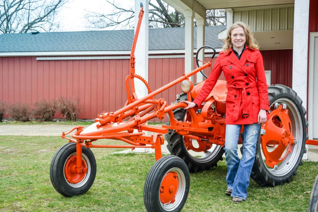 Why are Allis-Chalmers Tractors Orange?