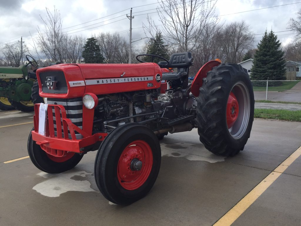 The Best Tractor Mey Ferguson Ever Made - Antique Tractor ... Mey Ferguson Wiring Harness on