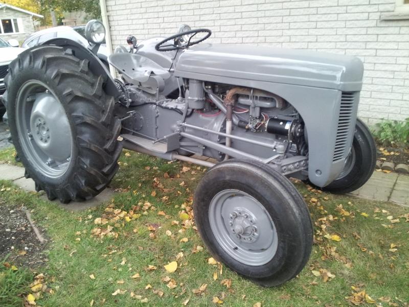 massey ferguson starter steiner tractor parts Massey Ferguson 54A