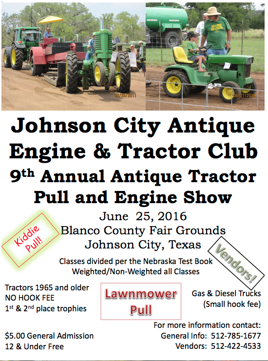Tractor Shows Calendar - Antique Tractor Blog