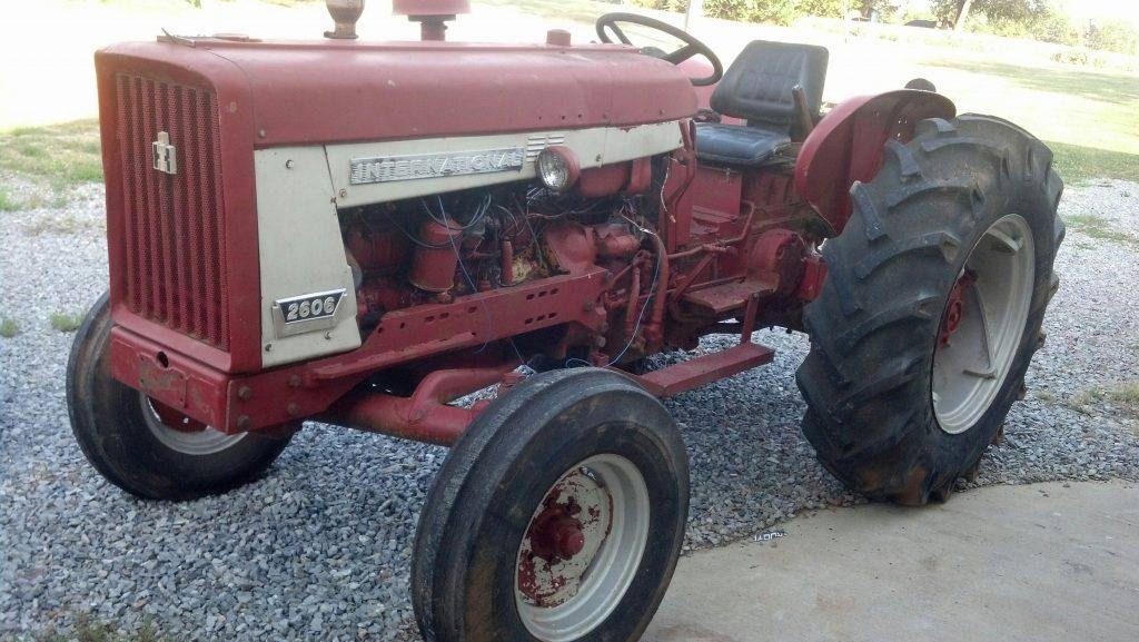 International 2606 Restoration - Antique Tractor Blog