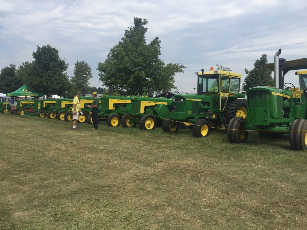 On the Road with Rachel: Michigan's Largest Tractor Show