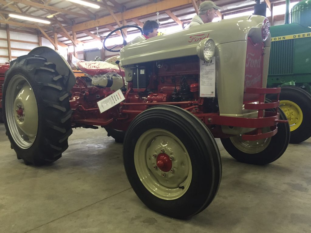 More Power From A Ford Jubilee Antique Tractor Blog 8n Cooling System One Of The Best Swaps Is To Put Larger Engine In If Youre Looking For Great Little Pulling Or Just Fun Powerhouse