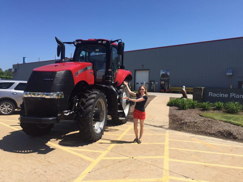 Road Trip Destination: Case IH Factory Tour