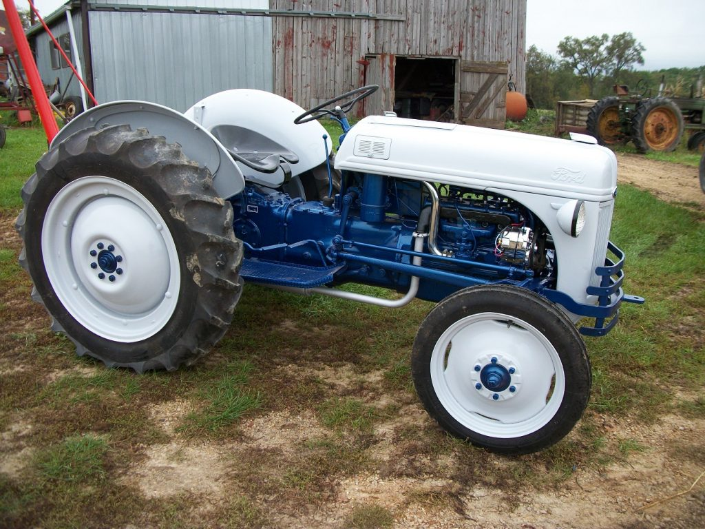 Ford Tractor Before And After Antique Blog 8n Cooling System