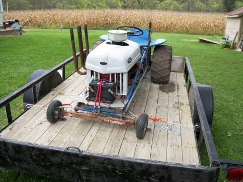 Mini Antique Tractors : Mini antique tractor