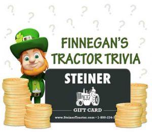 Finnegan's Tractor Trivia Winners