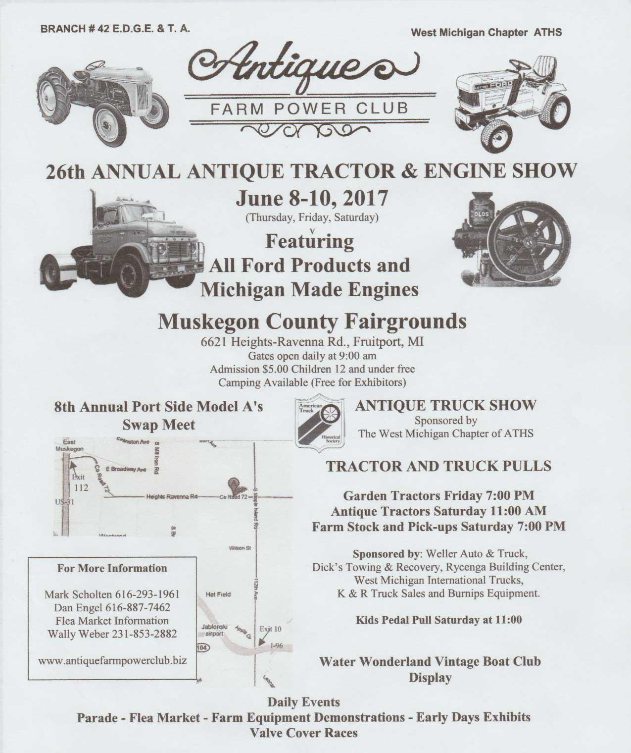 MI - Antique Farm Power Club @ Muskegon County Fairgrounds