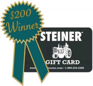 August Winner of $200 Gift Card