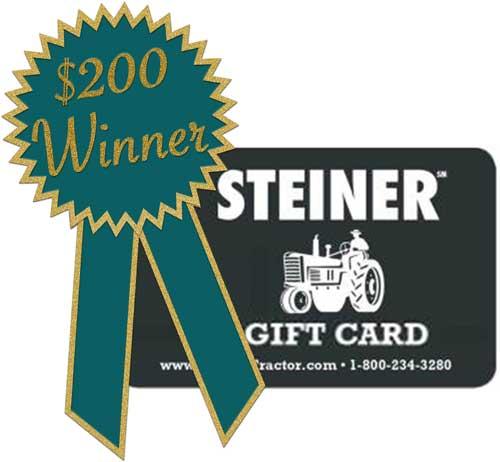 August $200 Gift Card Winner