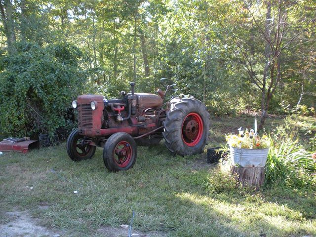 IH McCormick Before and After - Antique Tractor Blog