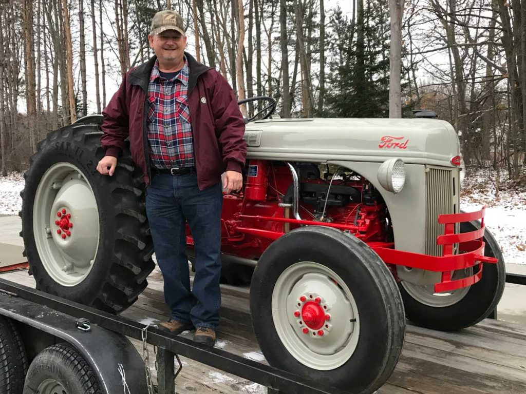 05e9ca684822 Ford Tractor is Heading Home - Antique Tractor Blog