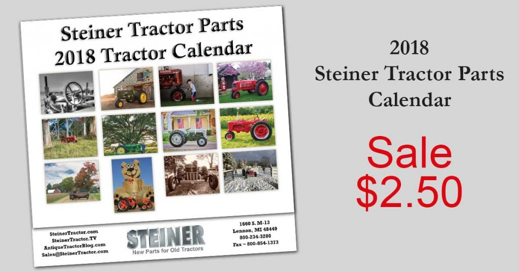 Tractor Calendar on Sale Now
