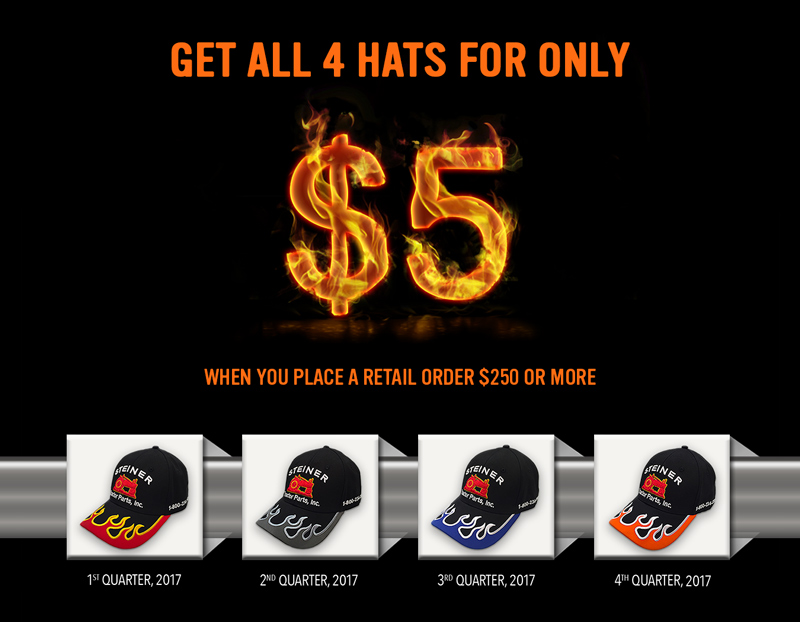 Flame Tractor Hat Bundle