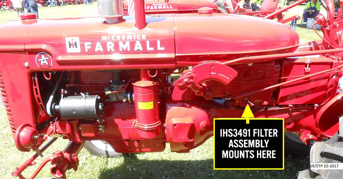 Improve the hydraulics on your Farmall tractor