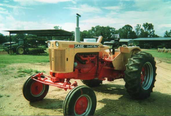 Restored Case Tractor - Antique Tractor Blog