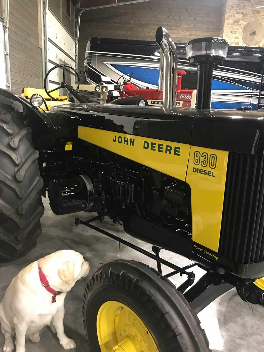 Favorite Tractor, John Deere 830
