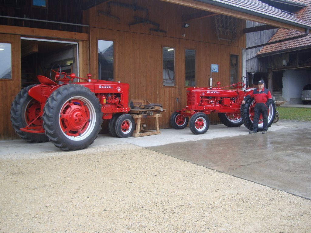Farmall H in Switzerland - Antique Tractor Blog