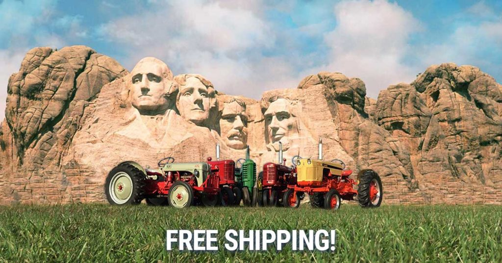 Presidents Day Free Shipping