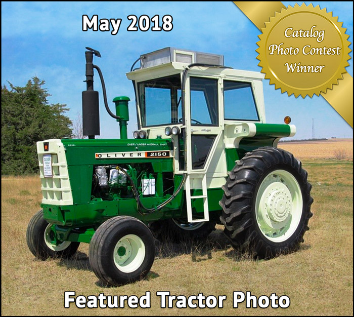 May Featured Tractor Photo of Oliver 2510 from Richard Kreger