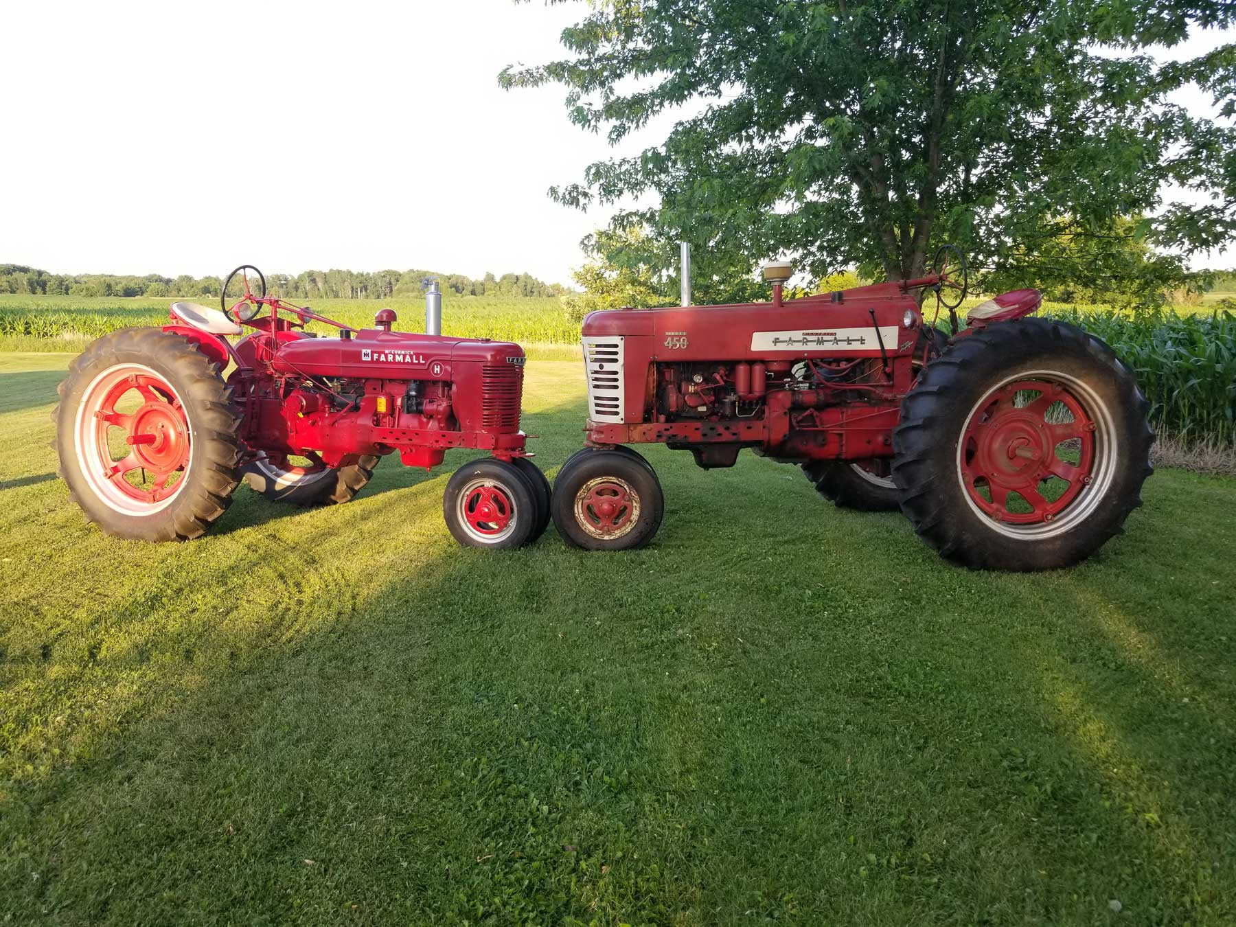 Farmall International Archives Antique Tractor Blog Wiring Harness I Have Always Loved Ih Since Was Little Recently Acquired My Late Grandfathers Restored 1945 H And Know He Would Of