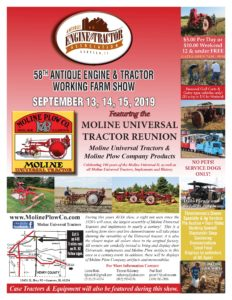 IL - 58th Annual Working Farm Show @ Antique Engine & Tractor Assicoation