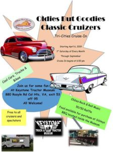 VA - Oldies But Goodies Classic Cruizers @ Keystone Antique Truck & Tractor Museum  |  |  |