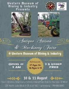 CO -Antique Artisan & Machinery Faire @ Tractor and Engine Show