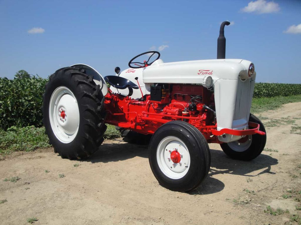 1b98b61c Finished With spreader. Ford, Tractor ...