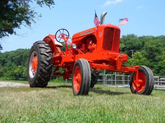 Allis Chalmers Wd45 : Tractor stories allis chalmers wd antique